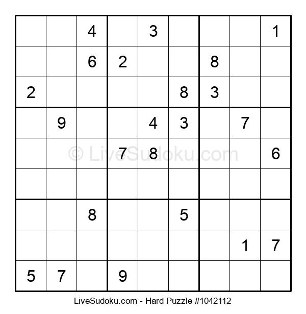 Hard Puzzle #1042112
