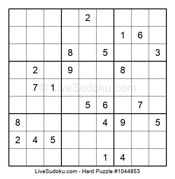 Hard Puzzle #1044853