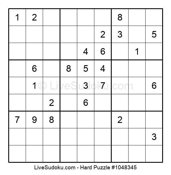 Hard Puzzle #1048345