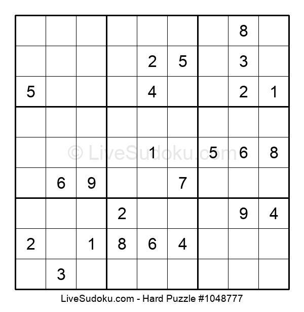 Hard Puzzle #1048777