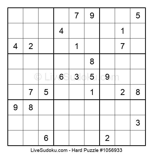 Hard Puzzle #1056933