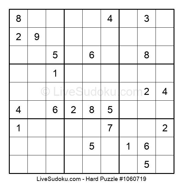 Hard Puzzle #1060719