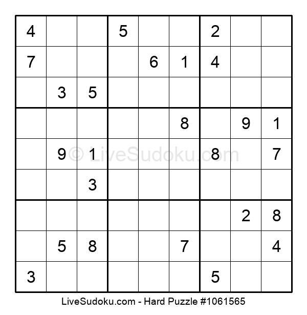 Hard Puzzle #1061565