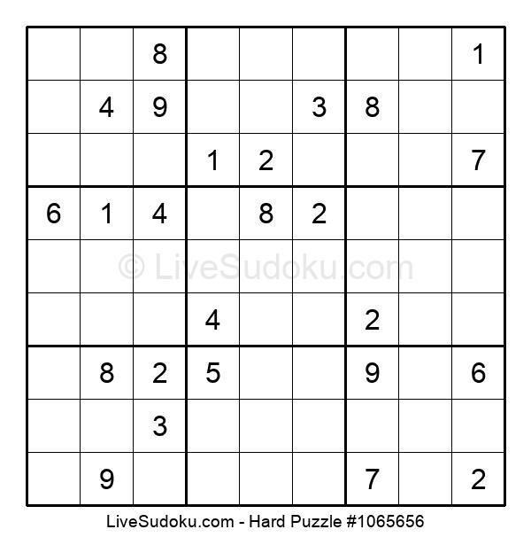 Hard Puzzle #1065656
