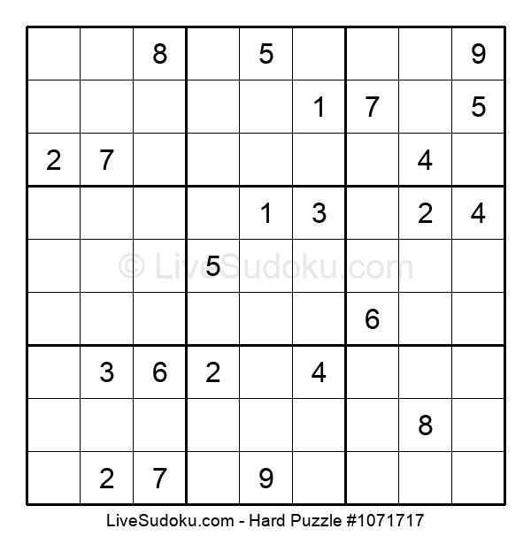 Hard Puzzle #1071717