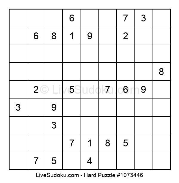 Hard Puzzle #1073446