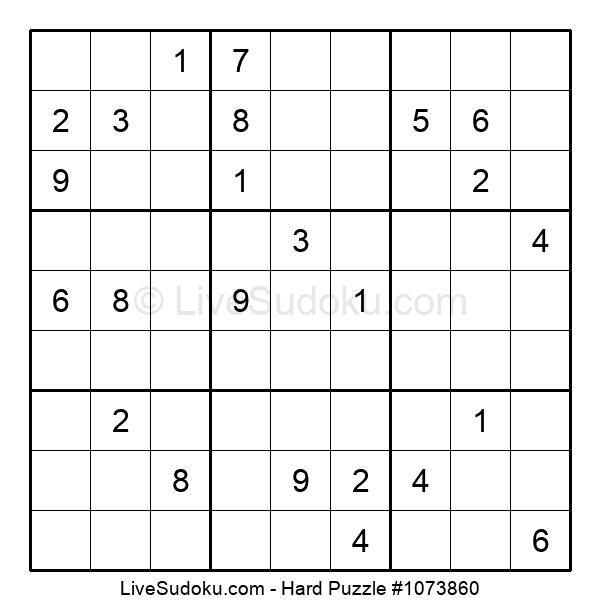 Hard Puzzle #1073860