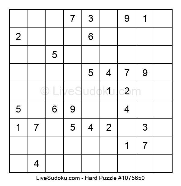 Hard Puzzle #1075650