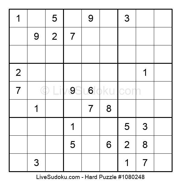 Hard Puzzle #1080248