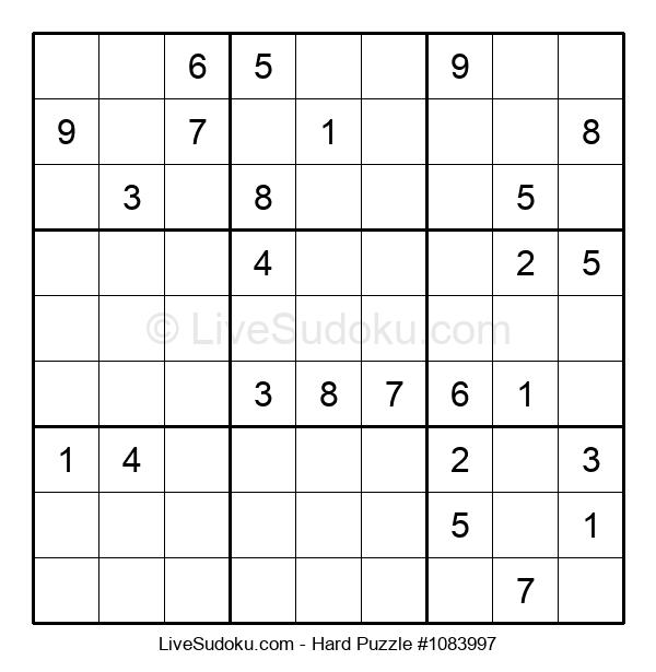 Hard Puzzle #1083997