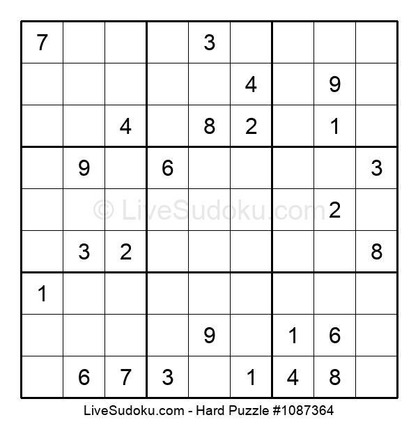 Hard Puzzle #1087364