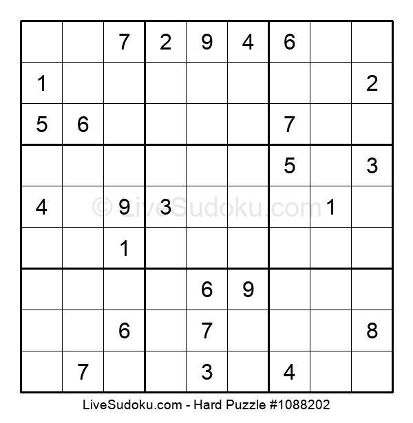 Hard Puzzle #1088202