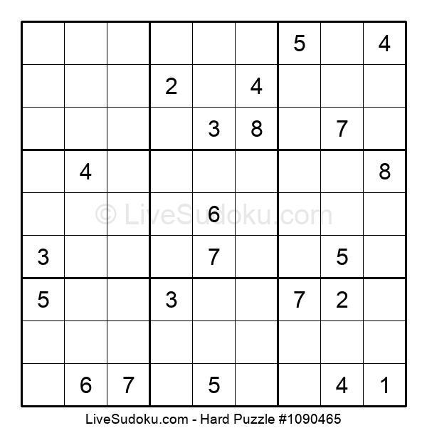 Hard Puzzle #1090465