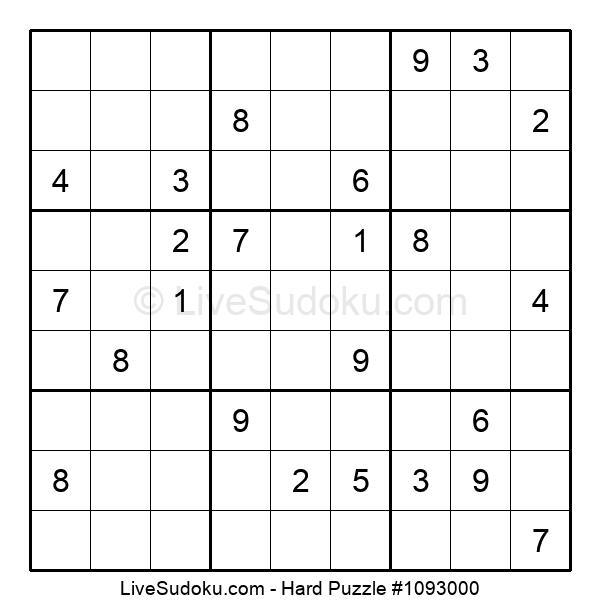 Hard Puzzle #1093000