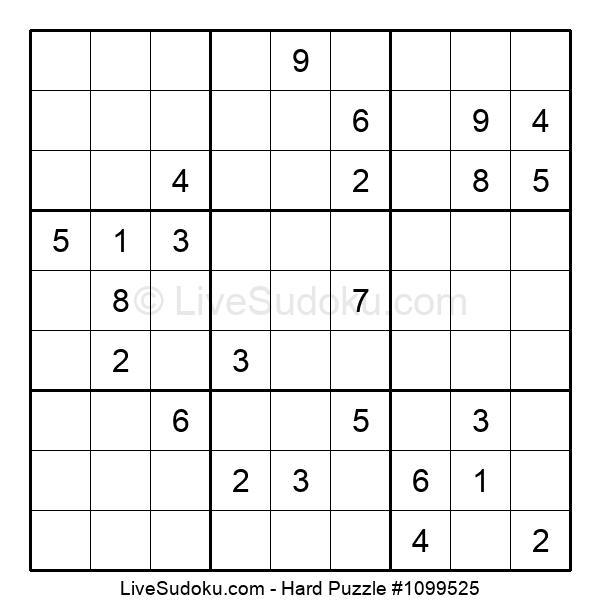 Hard Puzzle #1099525