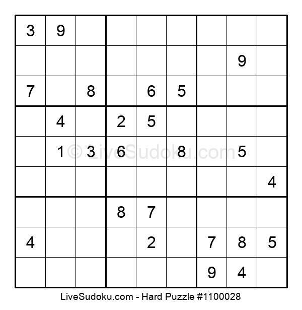 Hard Puzzle #1100028
