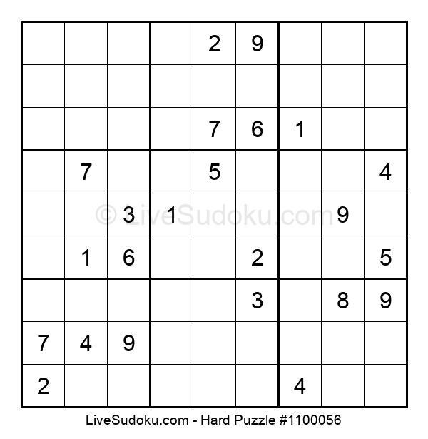 Hard Puzzle #1100056