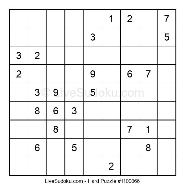 Hard Puzzle #1100066