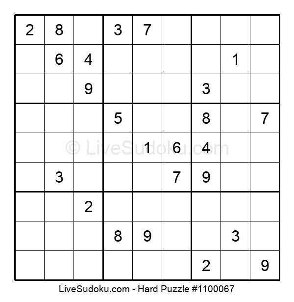 Hard Puzzle #1100067