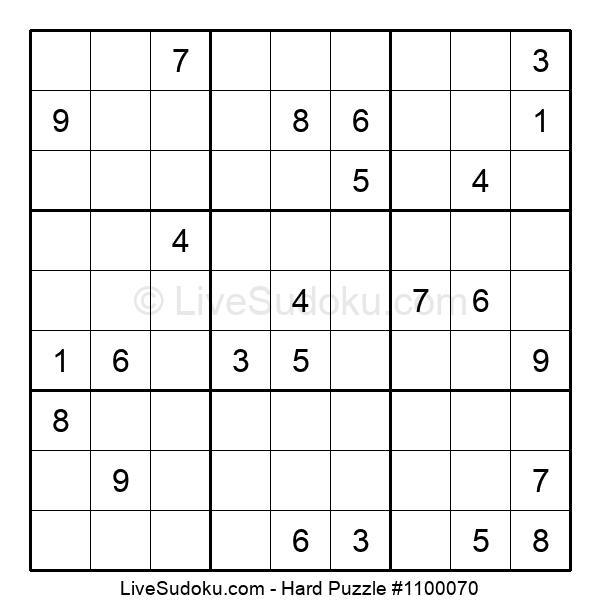 Hard Puzzle #1100070