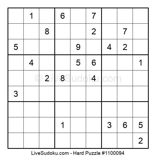 Hard Puzzle #1100094
