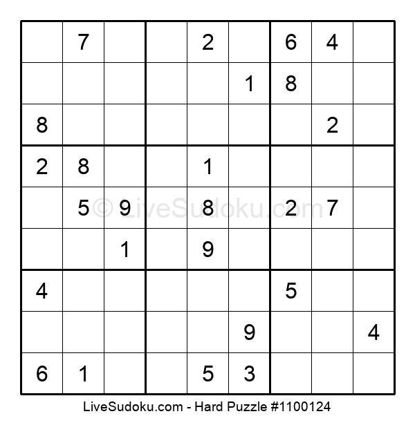 Hard Puzzle #1100124