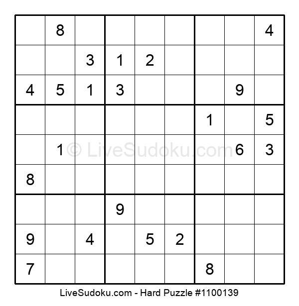 Hard Puzzle #1100139