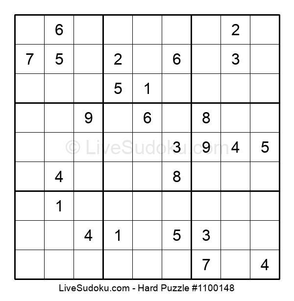 Hard Puzzle #1100148