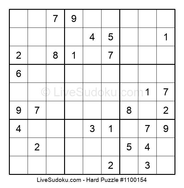 Hard Puzzle #1100154