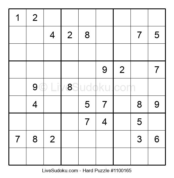 Hard Puzzle #1100165