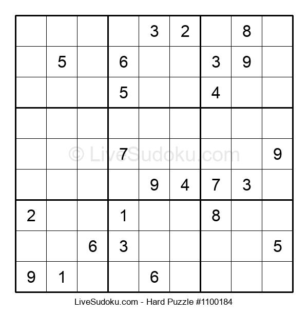 Hard Puzzle #1100184