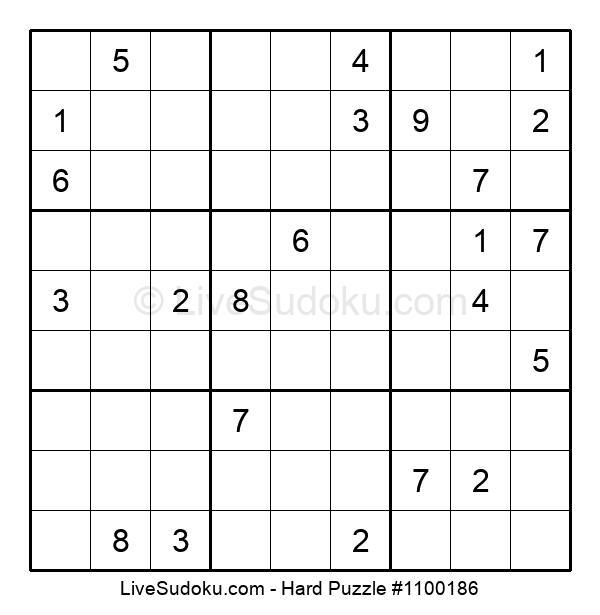 Hard Puzzle #1100186