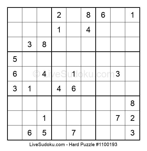 Hard Puzzle #1100193
