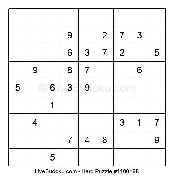 Hard Puzzle #1100198