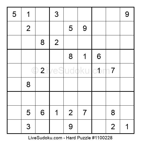 Hard Puzzle #1100228