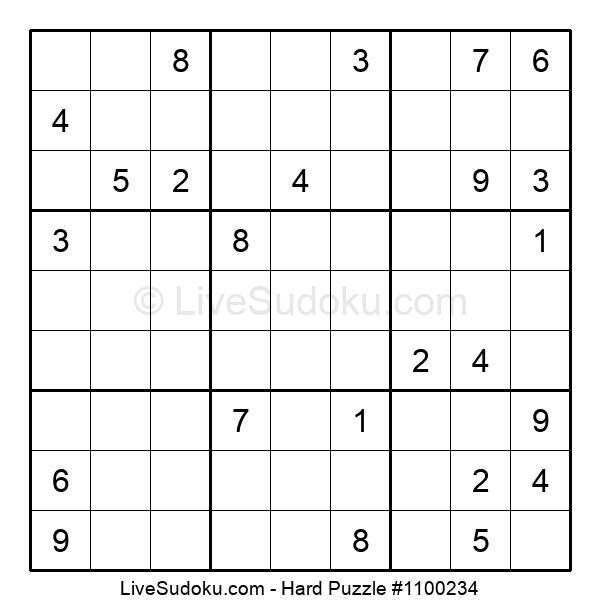 Hard Puzzle #1100234