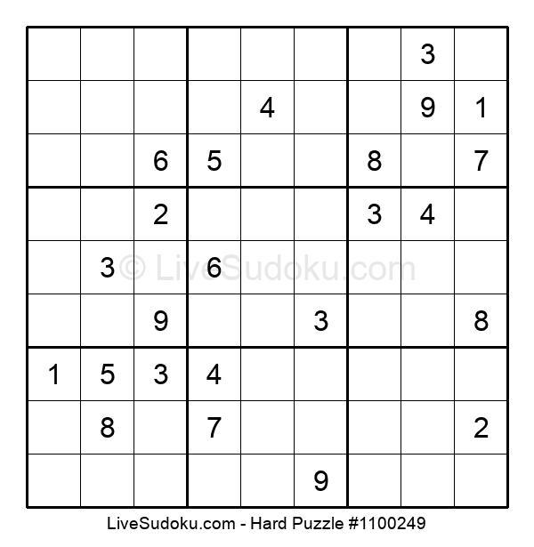 Hard Puzzle #1100249