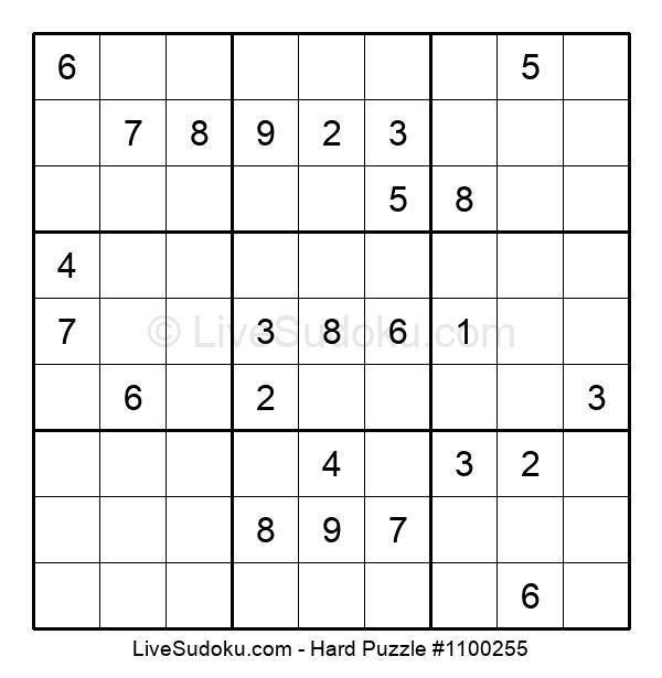 Hard Puzzle #1100255