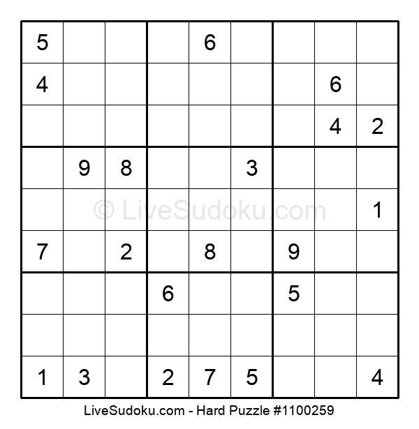 Hard Puzzle #1100259