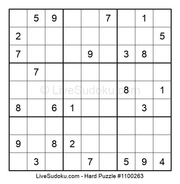Hard Puzzle #1100263