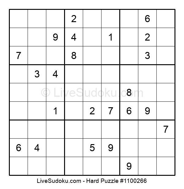 Hard Puzzle #1100266