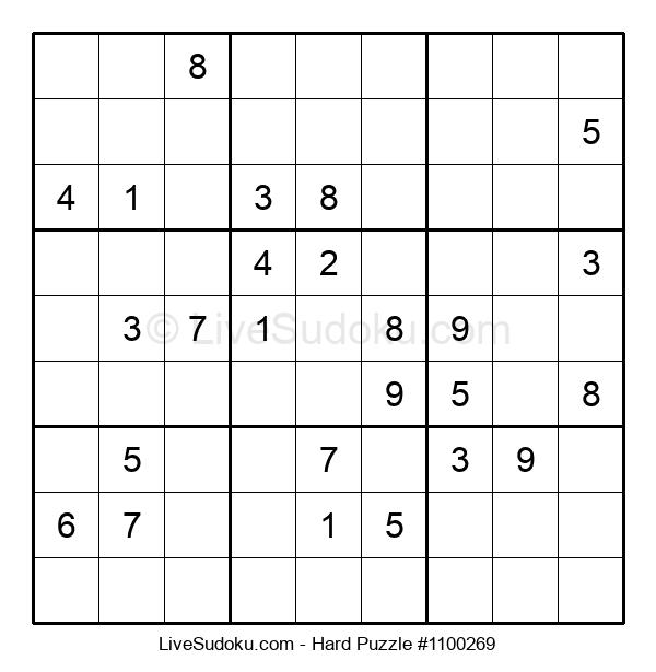 Hard Puzzle #1100269