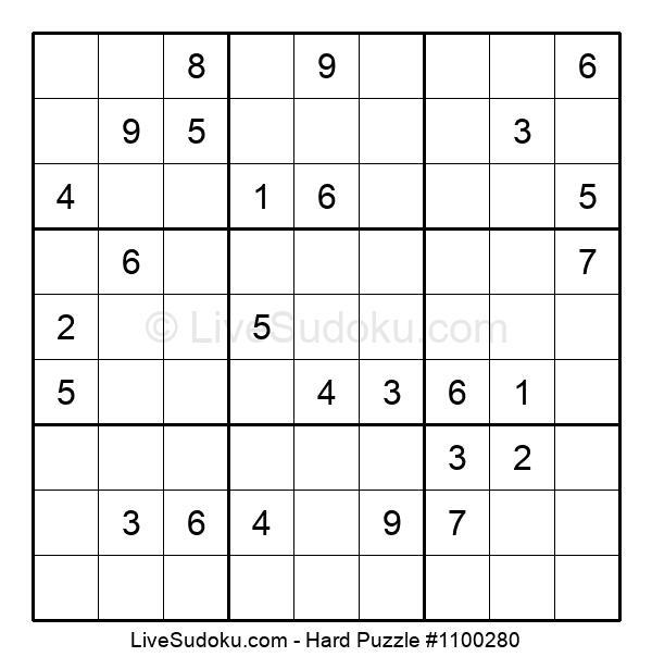 Hard Puzzle #1100280