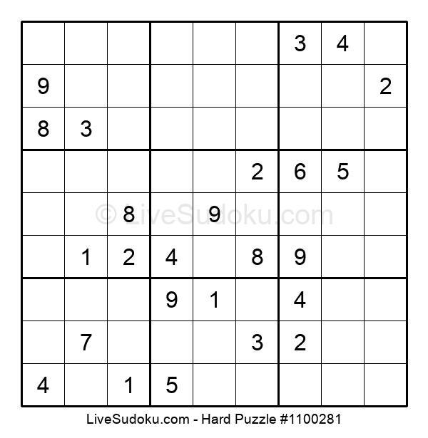 Hard Puzzle #1100281