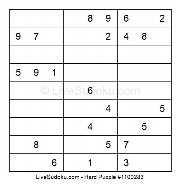 Hard Puzzle #1100283