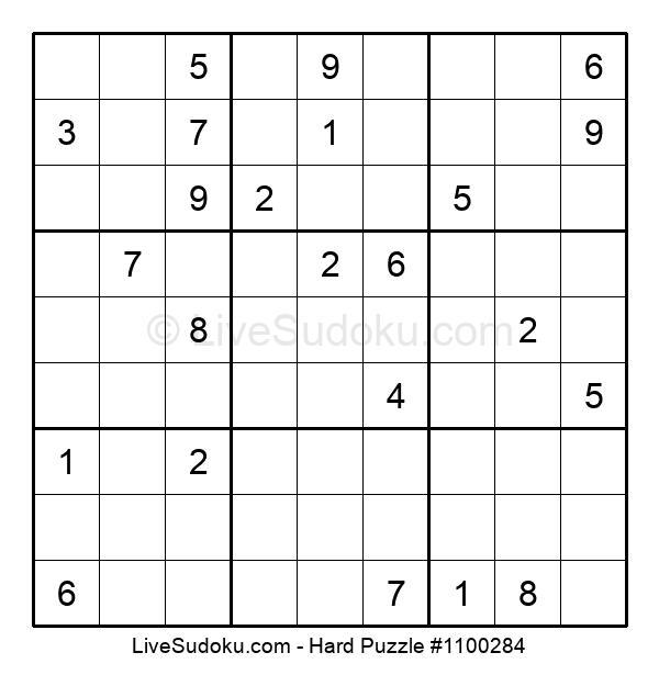 Hard Puzzle #1100284