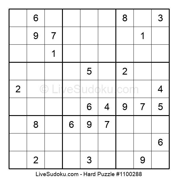 Hard Puzzle #1100288