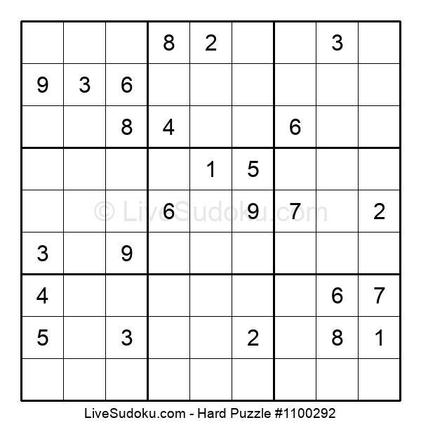 Hard Puzzle #1100292