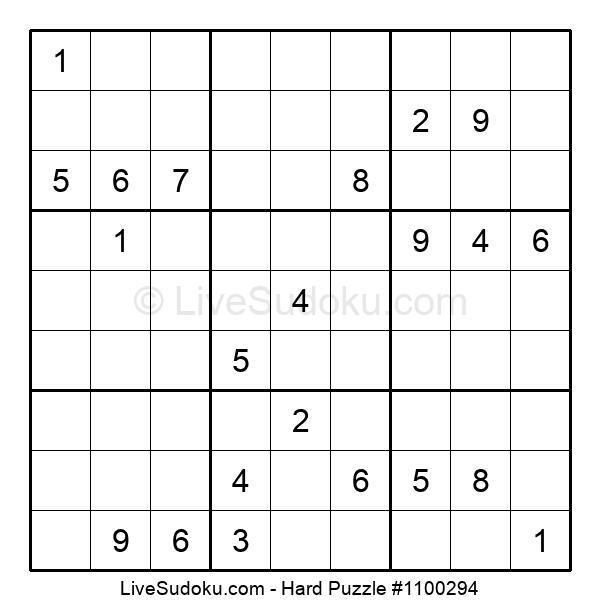 Hard Puzzle #1100294