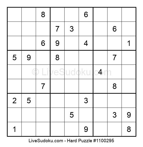 Hard Puzzle #1100295